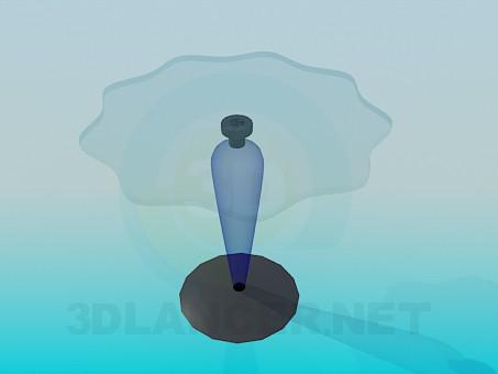 3d модель Столик на ножке – превью