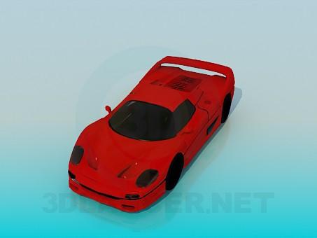 3d модель Спортивный автомобиль – превью