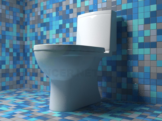 3d modeling toilet Sanita Luxe model NEXT model free download