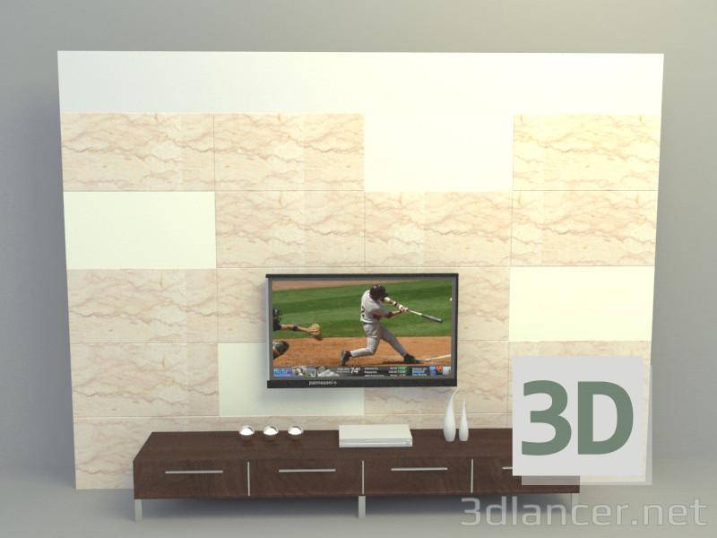 3d модель Экраны – превью