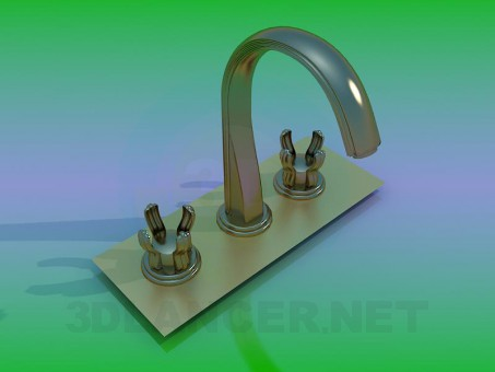 modelo 3D Mezclador - escuchar