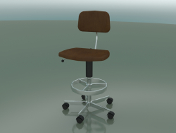 Leather Upholstered Chair (2534-С)