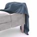 3d Grace bench model buy - render