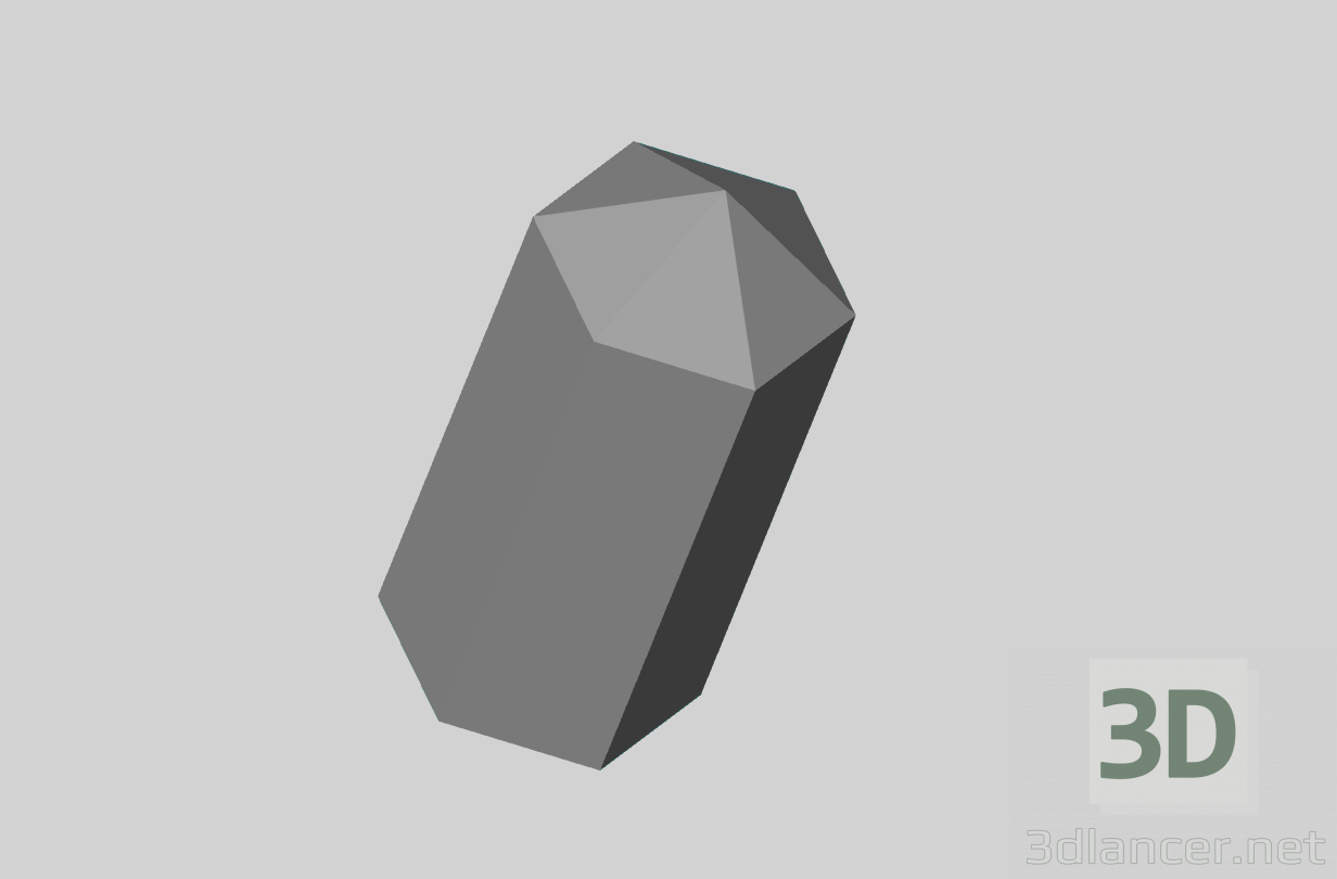 3d model Crystal - preview