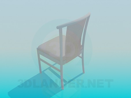 modelo 3D Cyhair suave - escuchar