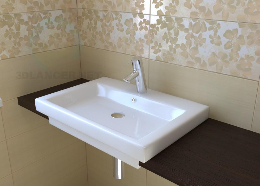 3d model Sink Duravit 2nd Floor ID 9428