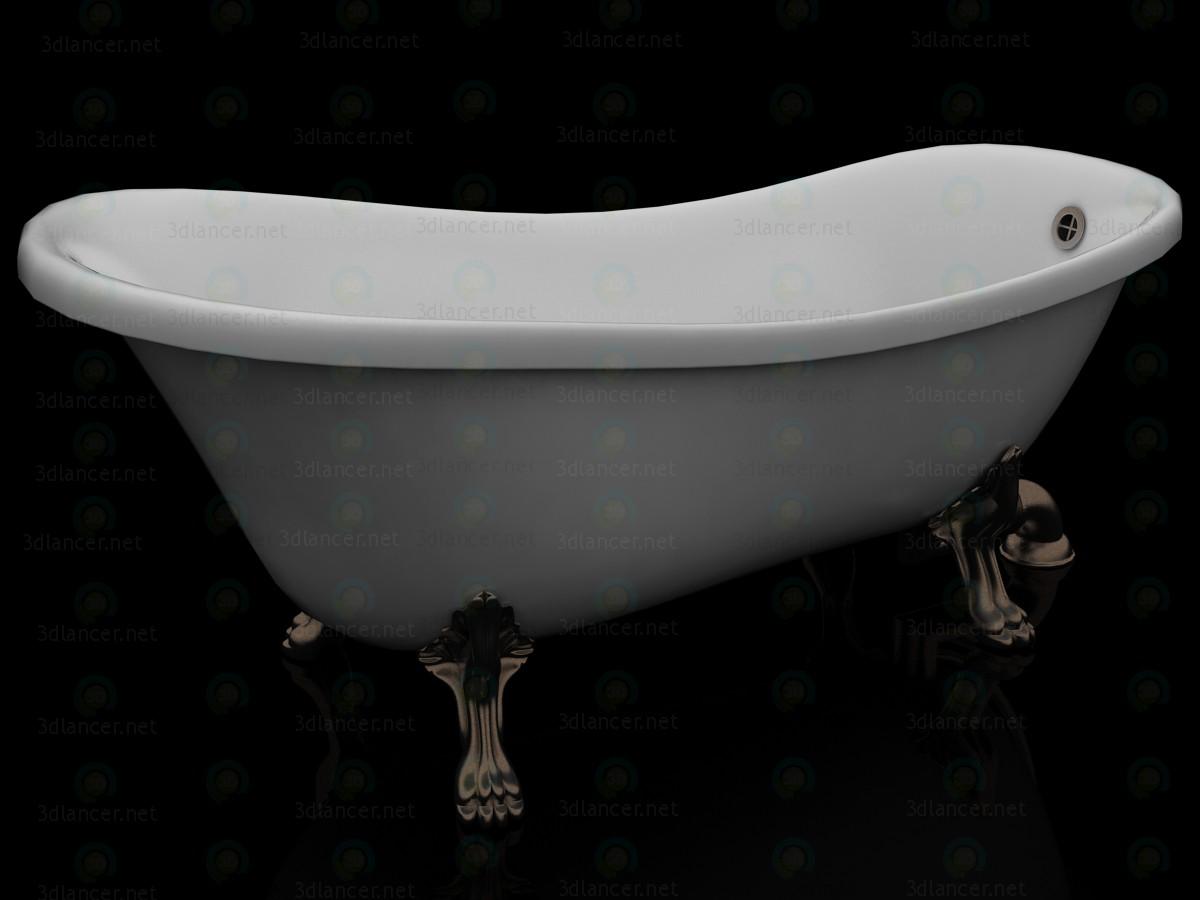 3d Classic Italian bath Kerasan model buy - render