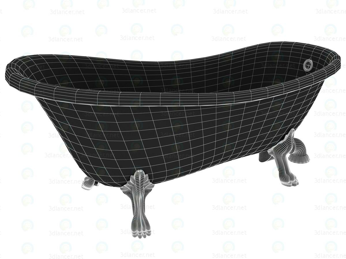 3d Классическая итальянская ванна Kerasan модель купить - ракурс