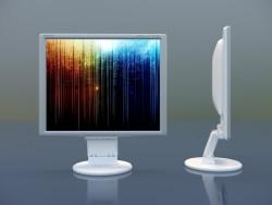 NEC lcd195vxm monitor + -1