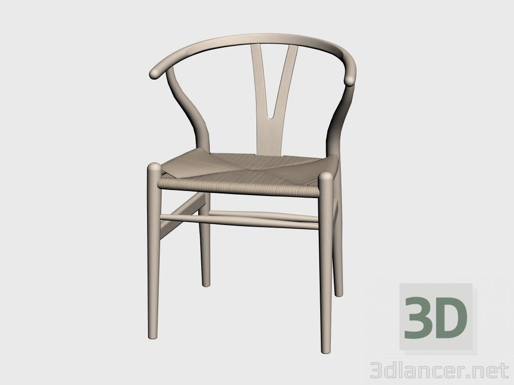 3d modell stuhl ch24 vom hersteller carl hansen chairs