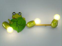 lámpara de la rana