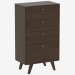3d model High chest of drawers THIMON (IDC006005000) - preview