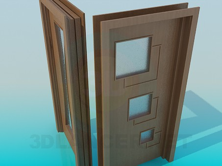 3d model Interior doors - preview