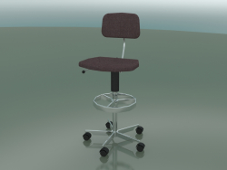Fabric upholstered chair (2534-D)