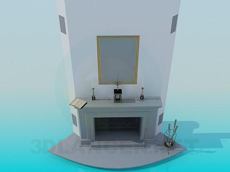3 डी मॉडल चिमनी - पूर्वावलोकन