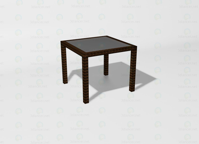 3d модель Summer стол – превью