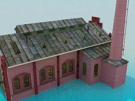 3d model Factory - preview
