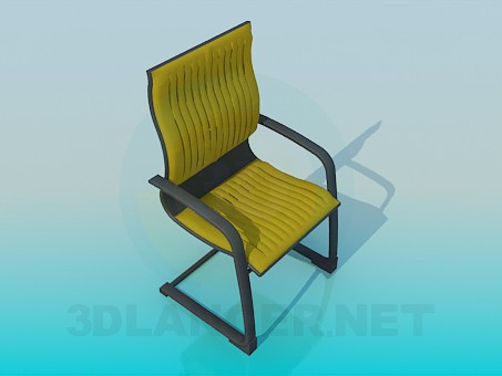 3d model Silla de oficina cómoda - vista previa