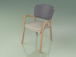 Chair 061 (Gray, Polyurethane Resin Mole)