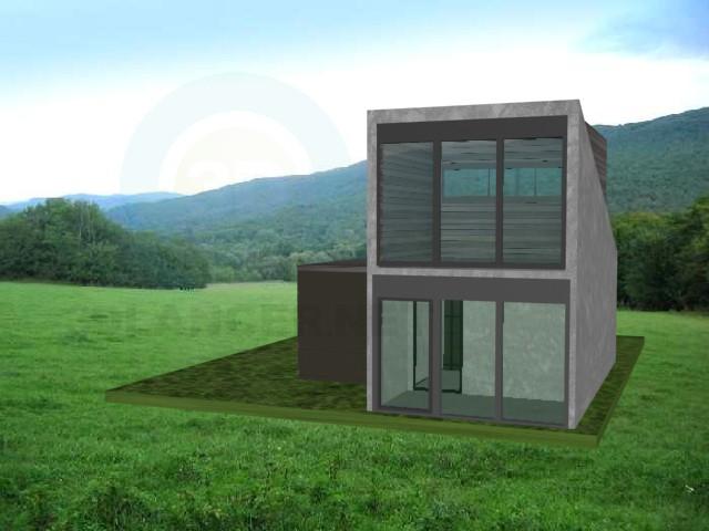 3d модель Дом Минимал – превью