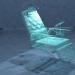 3d massage chair model buy - render