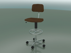 Leather Upholstered Chair (2534-D)