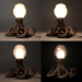 3d Lamp octopus model buy - render