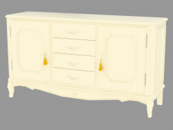 Buffet with two doors and four drawers NFR2203