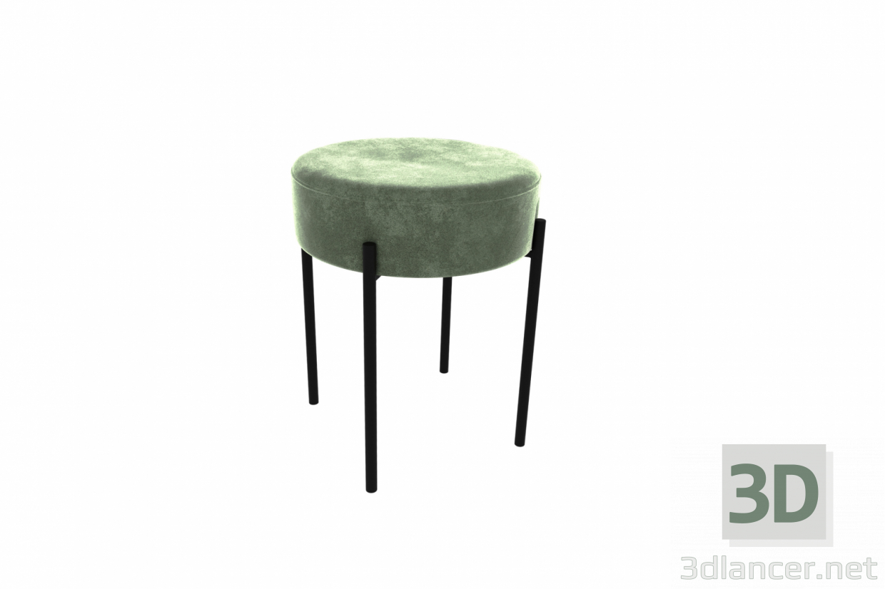 3d model Stool 430 low - preview