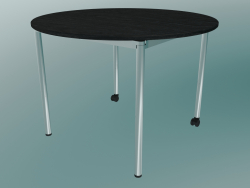 The table for the cafe is round (D 1050mm)