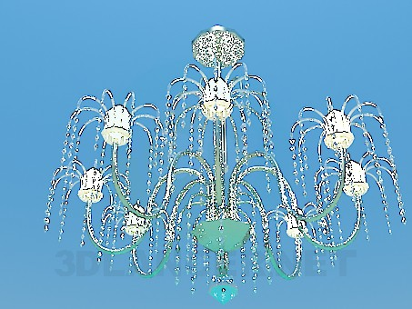 3d model Chandelier with have formed - preview