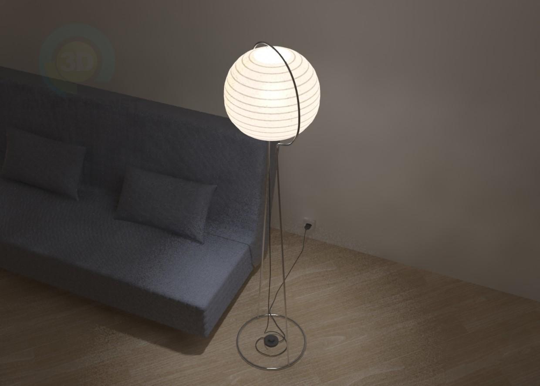 modelo 3D ВЭТЕ lámpara IKEA - escuchar