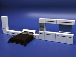 मॉड्यूलर प्रणाली - एज़्टेक बेडरूम