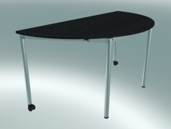 Table semi-circulaire modulaire (1500x750mm)