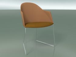 Chaise 2227 (sur un traîneau, CRO, avec un oreiller, polypropylène PC00004)