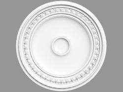 Ceiling outlet R77 (62 x 62 x 4.2 - Ø 62 cm)