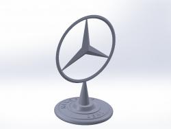 Placa de identificação Mercedes