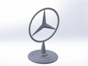 Mercedes nameplate