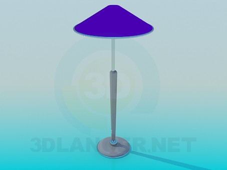 3d modeling Floor lamp model free download