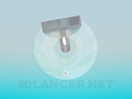 3d модель Светильник точечный – превью