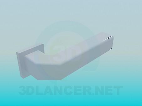 3d model Pomo de la puerta - vista previa