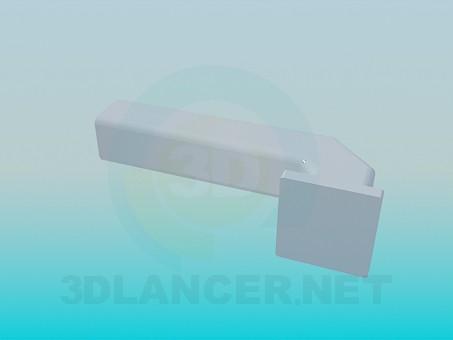 3d модель Дверна ручка – превью