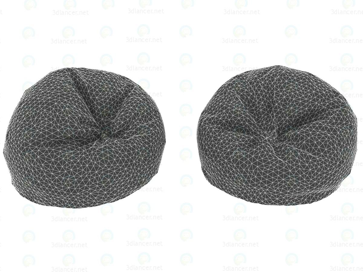 3d Кресло футбольний м'яч модель купити - зображення