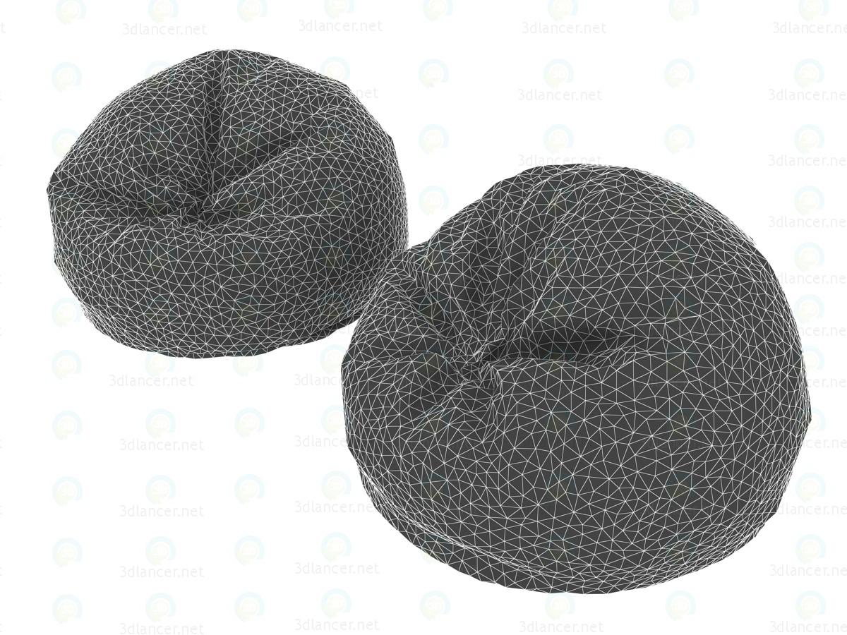 Sillas del bolso de fútbol 3D modelo Compro - render
