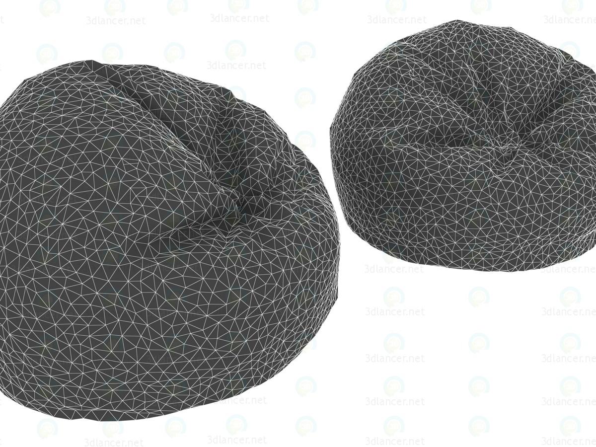 3d  Football bag chairs  model buy - render