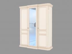 3-door wardrobe with mirror (1926x2337x644)