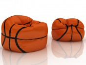 Sac de basketball chaise