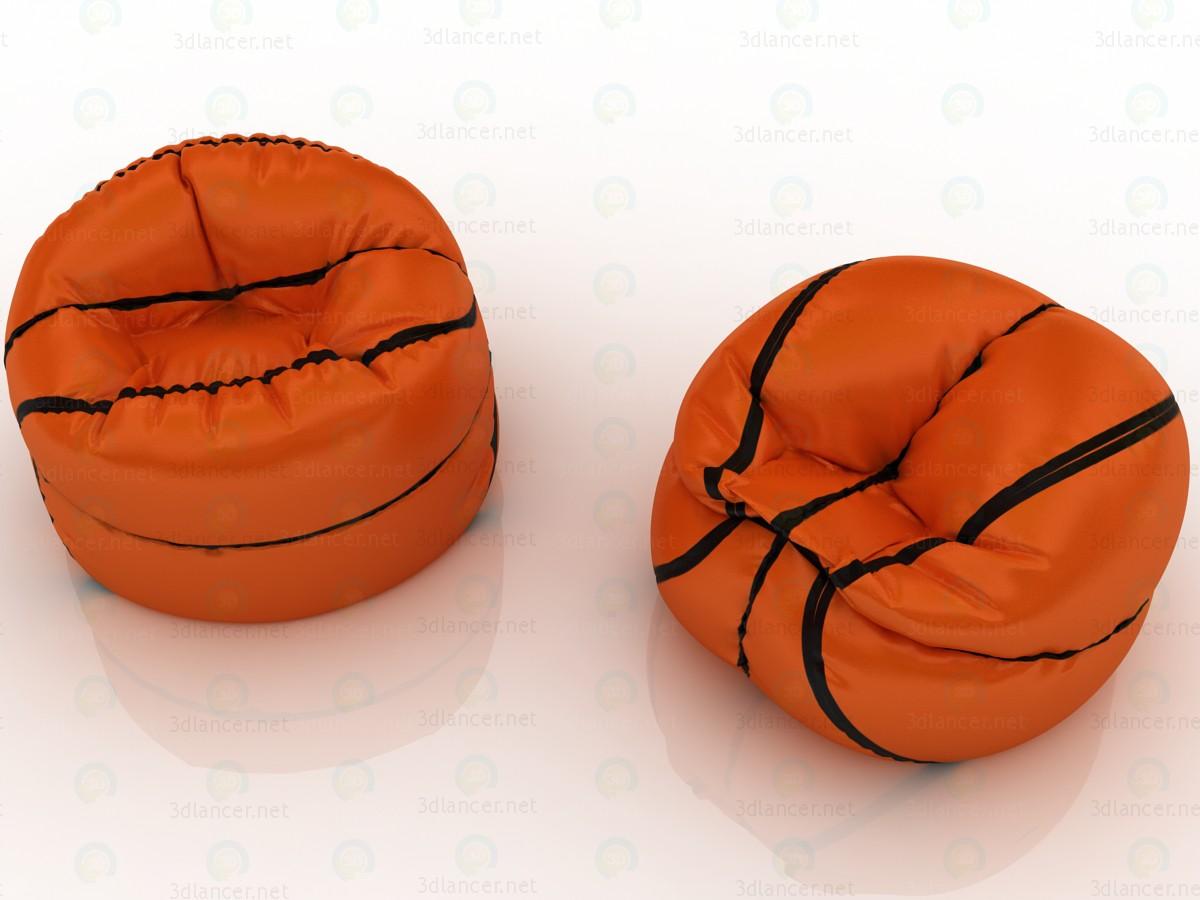 3d  Basketball chair bag  model buy - render