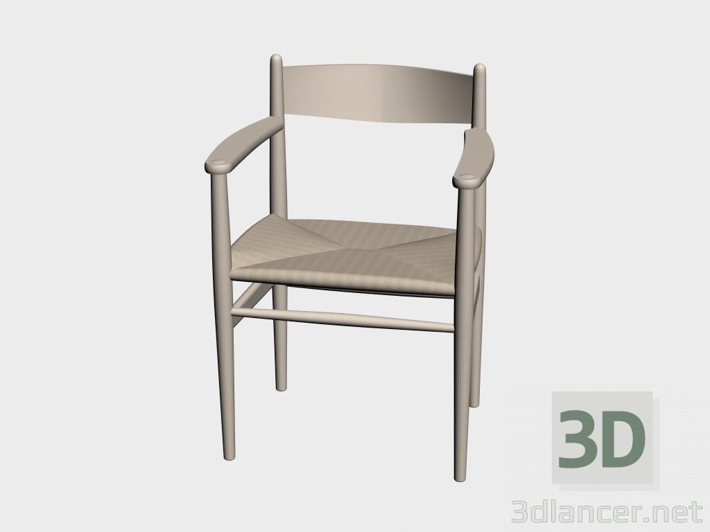 3d modell stuhl ch37 vom hersteller carl hansen chairs