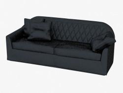 Sofá doble de cuero Veyron